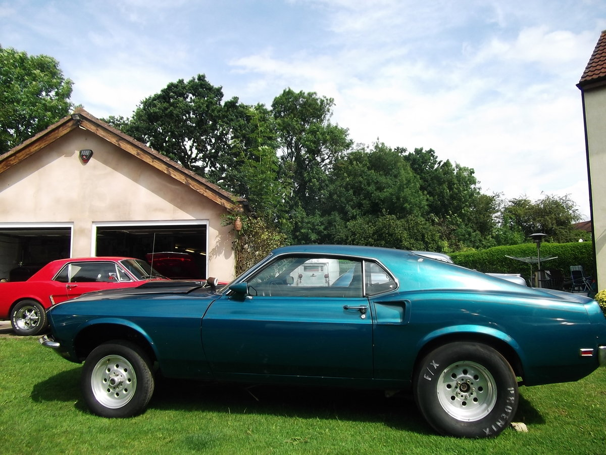1969-Mustang-Fastback-Ex-Drag-Car  SOLD (picture 6 of 6)