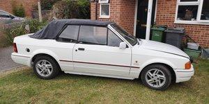 1989 Ford escort xr3i cabrolet For Sale