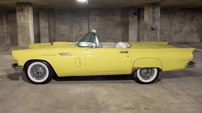 1957 Ford Thunderbird Amos Minter Full Restored Mint $89.9k For Sale (picture 1 of 6)