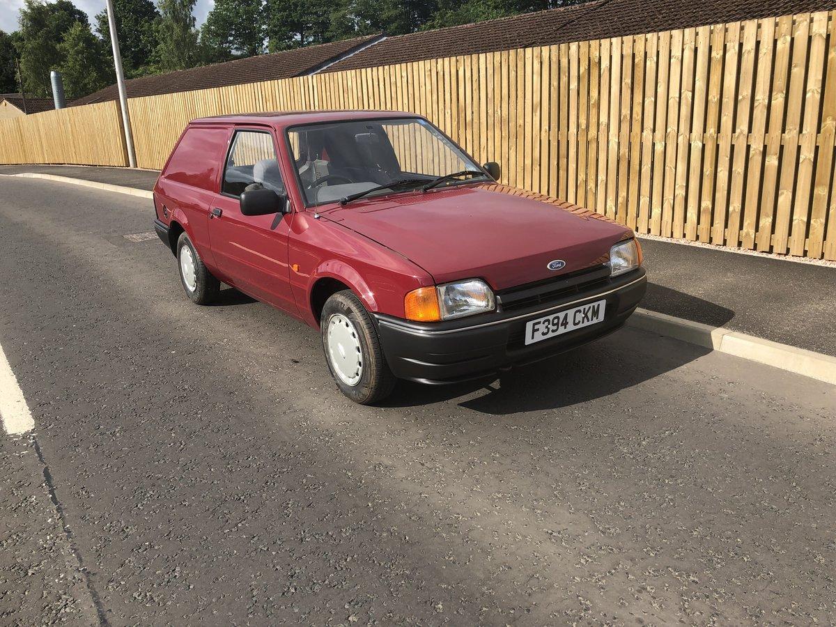 1988 Ford escort Combie van cvh 1.4 SOLD (picture 1 of 6)