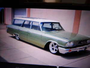 1963 Galxie surf wagon For Sale