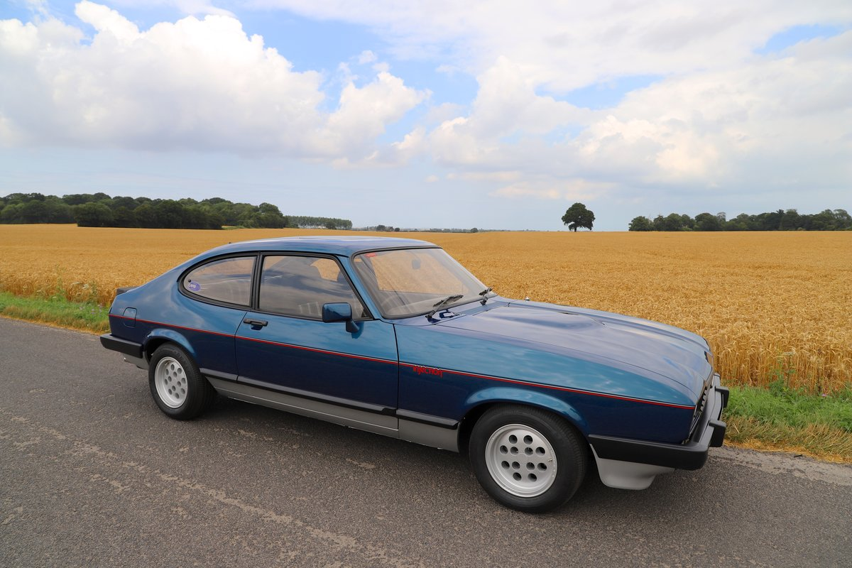 Ford Capri 2.8i, 1981. Nut & Bolt Restoration. SOLD (picture 1 of 6)