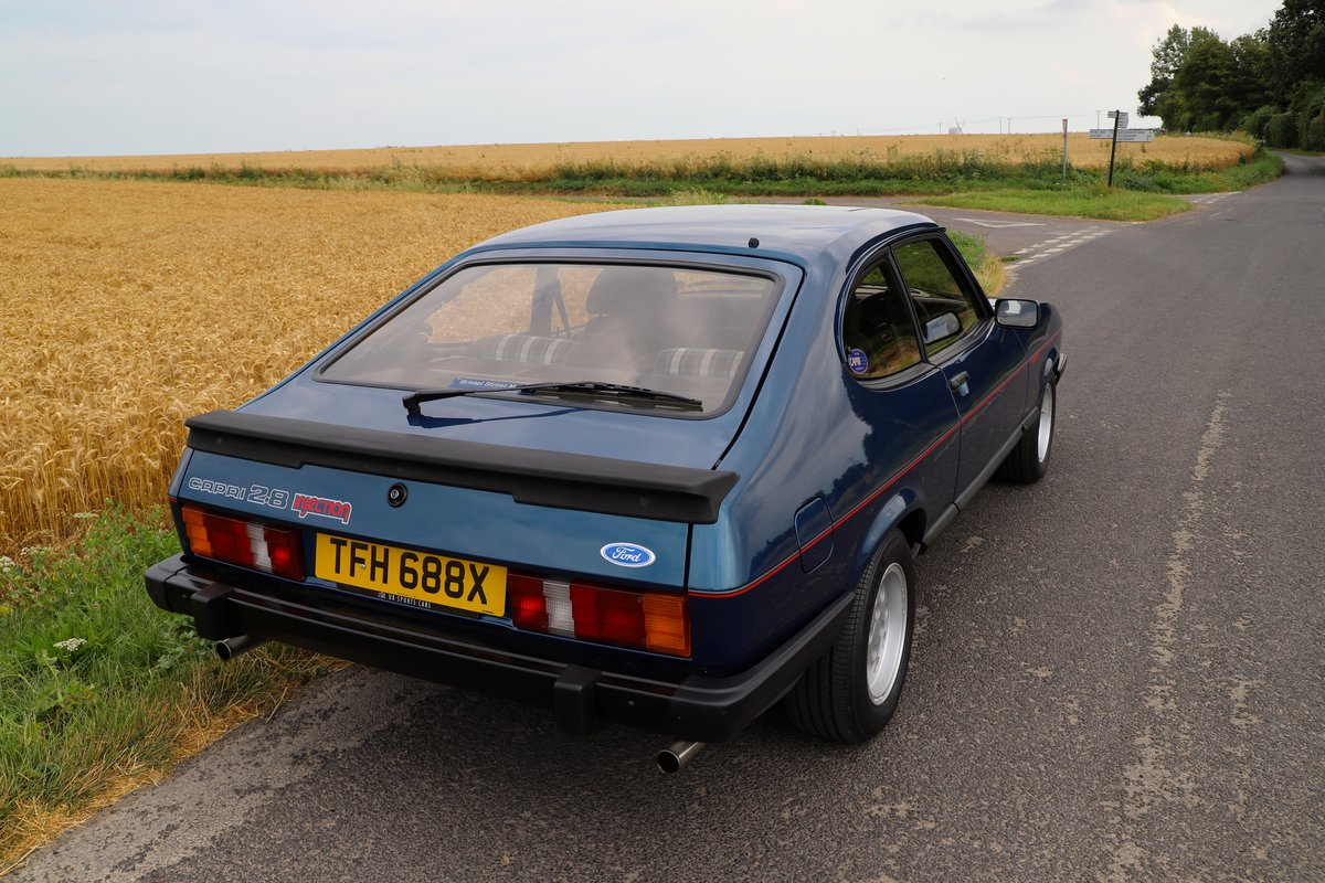 Ford Capri 2.8i, 1981. Nut & Bolt Restoration. SOLD (picture 2 of 6)