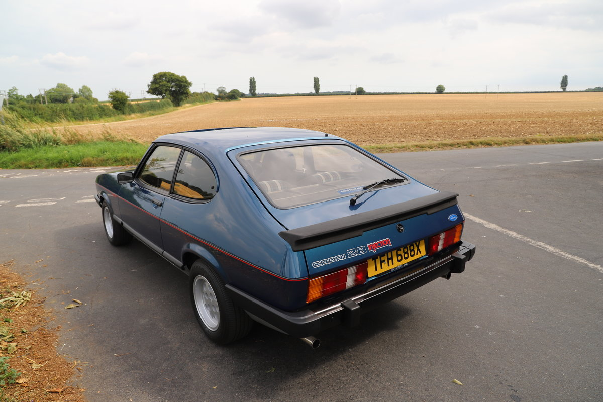 Ford Capri 2.8i, 1981. Nut & Bolt Restoration. SOLD (picture 3 of 6)
