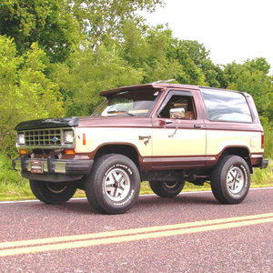 1984 Ford Bronco II XLS 4x4 SUV = clean driver 65k miles $16 For Sale