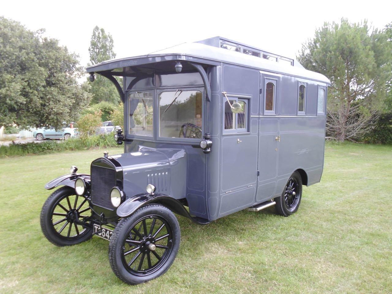 Ford model T camper van first registered 1922 SOLD (picture 1 of 6)