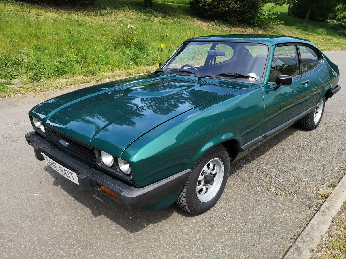 1979 FORD CAPRI 2.0 GL - LOW MILEAGE - ONE OWNER - LOOK For Sale (picture 1 of 6)