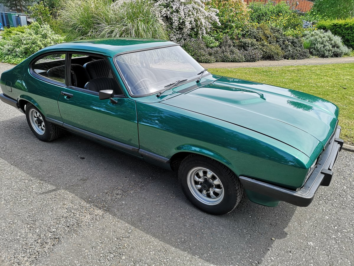 1979 FORD CAPRI 2.0 GL - LOW MILEAGE - ONE OWNER - LOOK For Sale (picture 2 of 6)