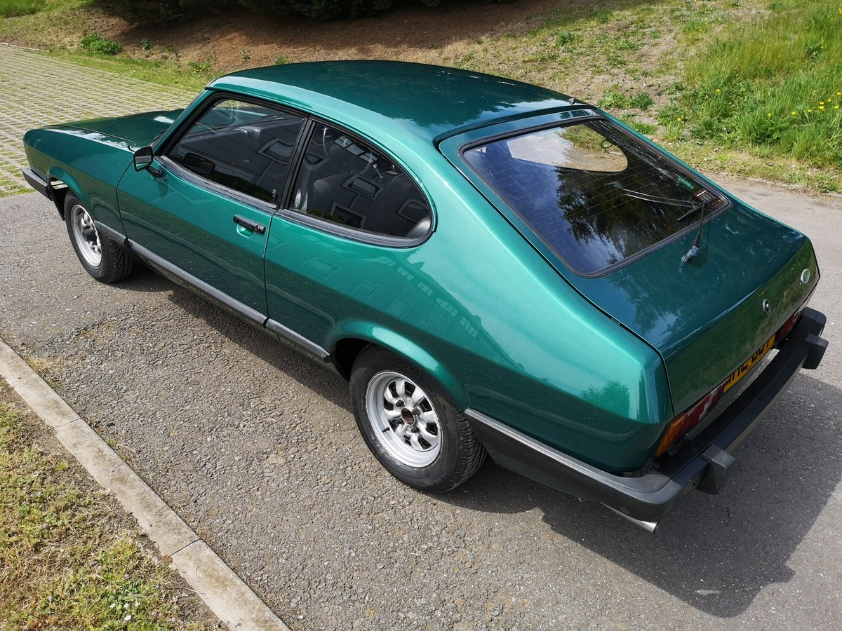 1979 FORD CAPRI 2.0 GL - LOW MILEAGE - ONE OWNER - LOOK For Sale (picture 3 of 6)