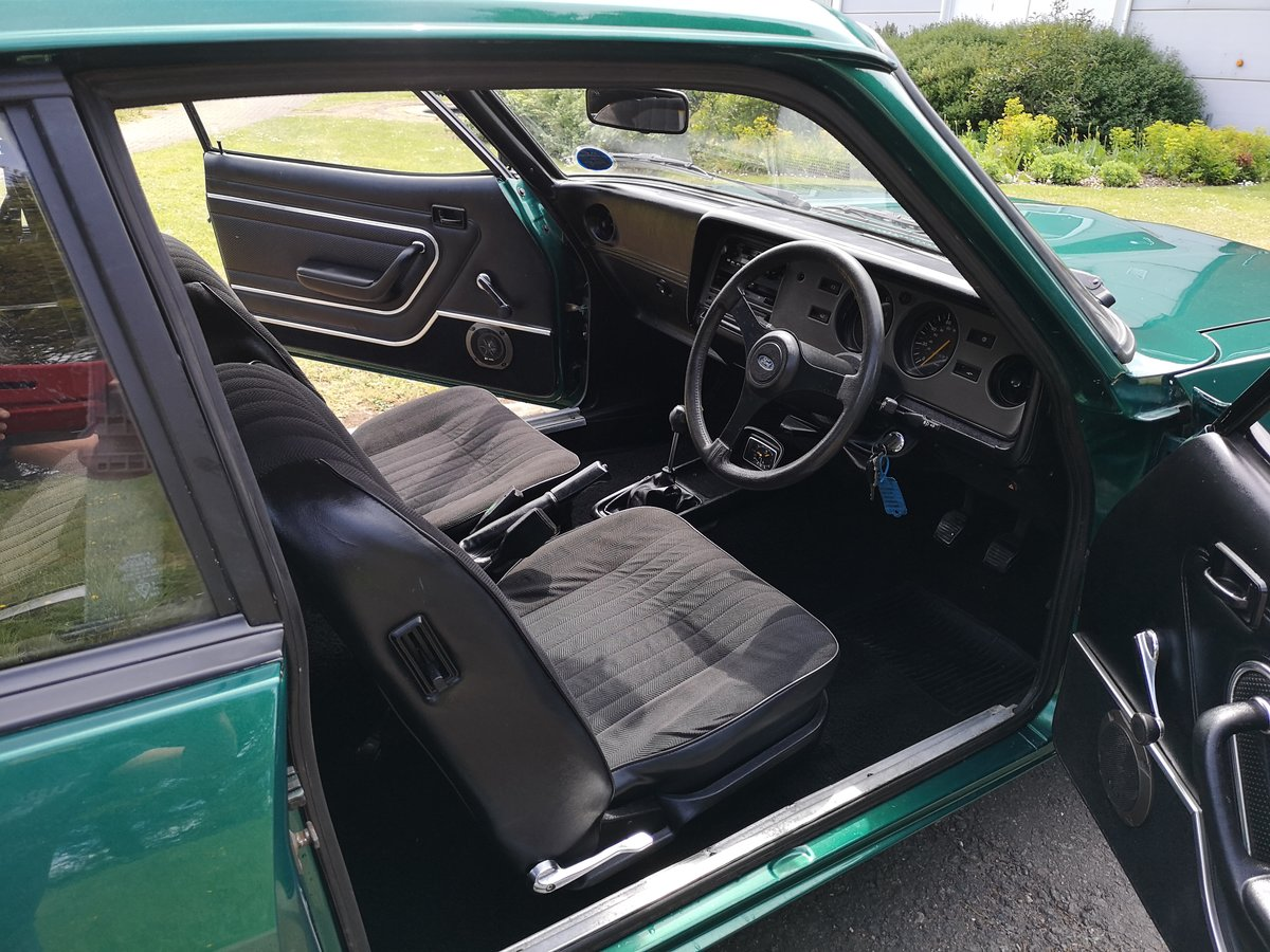 1979 FORD CAPRI 2.0 GL - LOW MILEAGE - ONE OWNER - LOOK For Sale (picture 5 of 6)