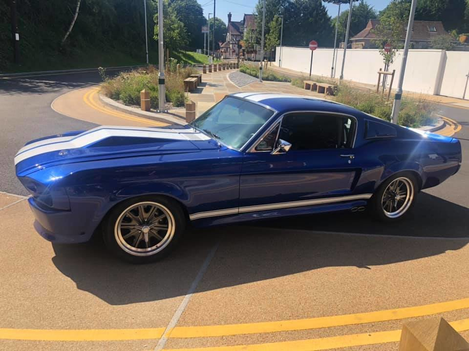 1967 Ford Mustang Fastback Restomod - Eleanor For Sale (picture 1 of 6)