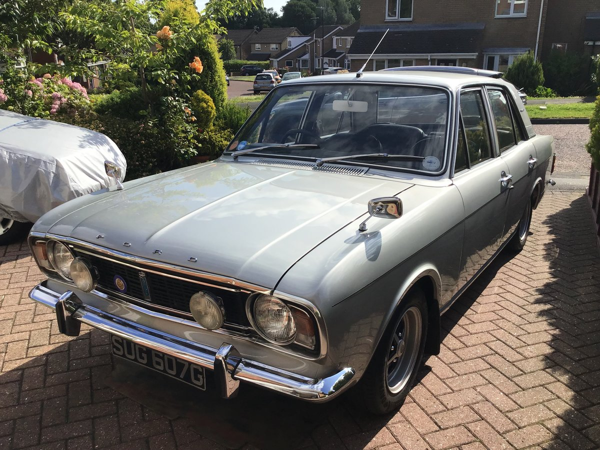 1969 Silver Fox Mk2 Ford Cortina. SOLD (picture 1 of 6)