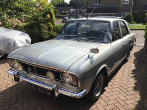 1969 Silver Fox Mk2 Ford Cortina.