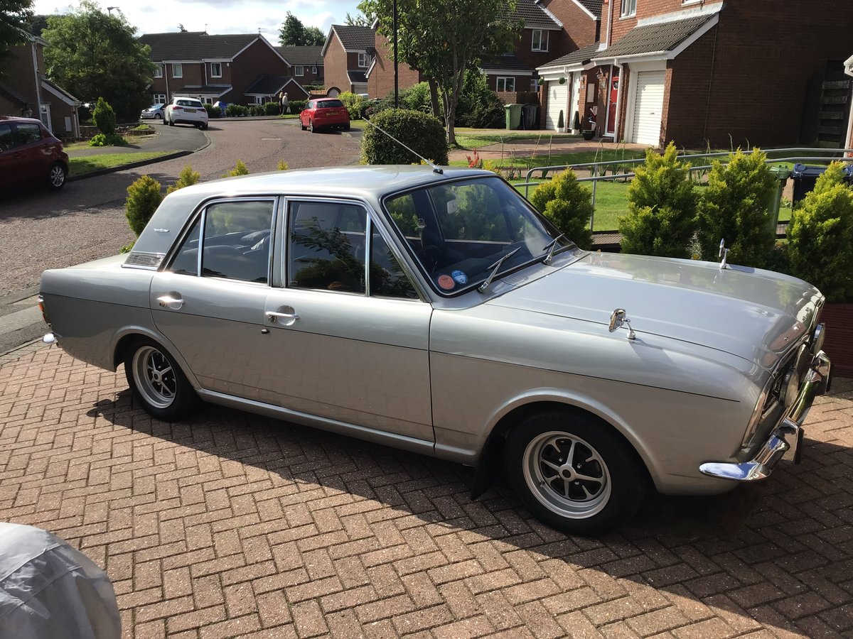 1969 Silver Fox Mk2 Ford Cortina. SOLD (picture 3 of 6)