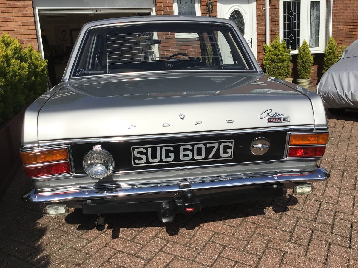 1969 Silver Fox Mk2 Ford Cortina. SOLD (picture 5 of 6)