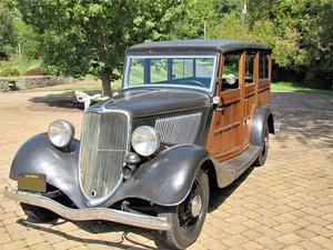 1933 Ford Model 40 Woody Wagon (Wantage, NJ) $65000 obo