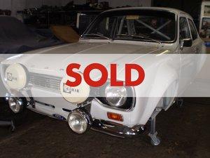 1969 Ford Escort Mk1 Gr4 historic spec