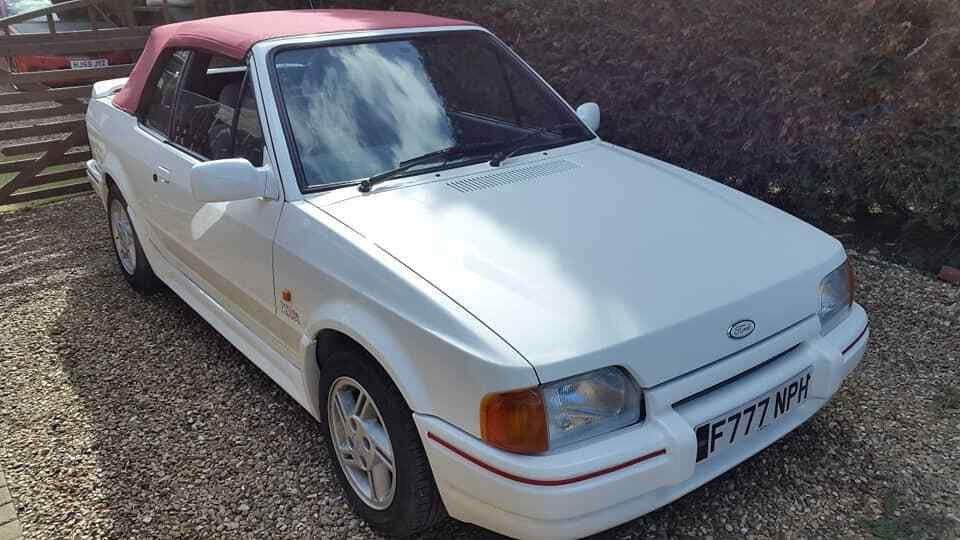 1988 Ford Escort Cabriolet XR3i or swap  E30 cabriolet  For Sale (picture 1 of 6)