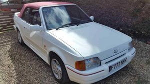1988 Ford Escort Cabriolet XR3i or swap  E30 cabriolet  For Sale