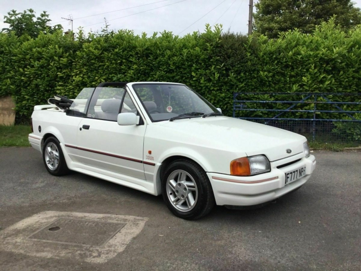 1988 Ford Escort Cabriolet XR3i or swap  E30 cabriolet  For Sale (picture 3 of 6)