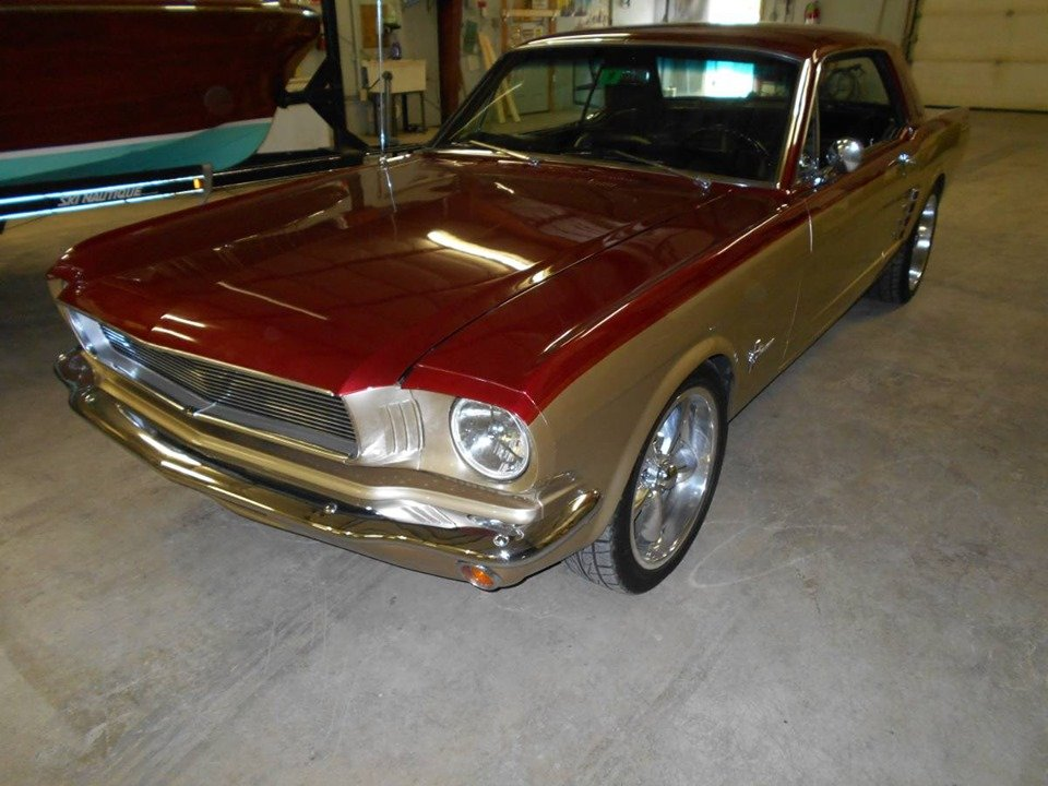 1966 Ford Mustang (Rangeley, ME) $29,900 obo For Sale (picture 1 of 4)