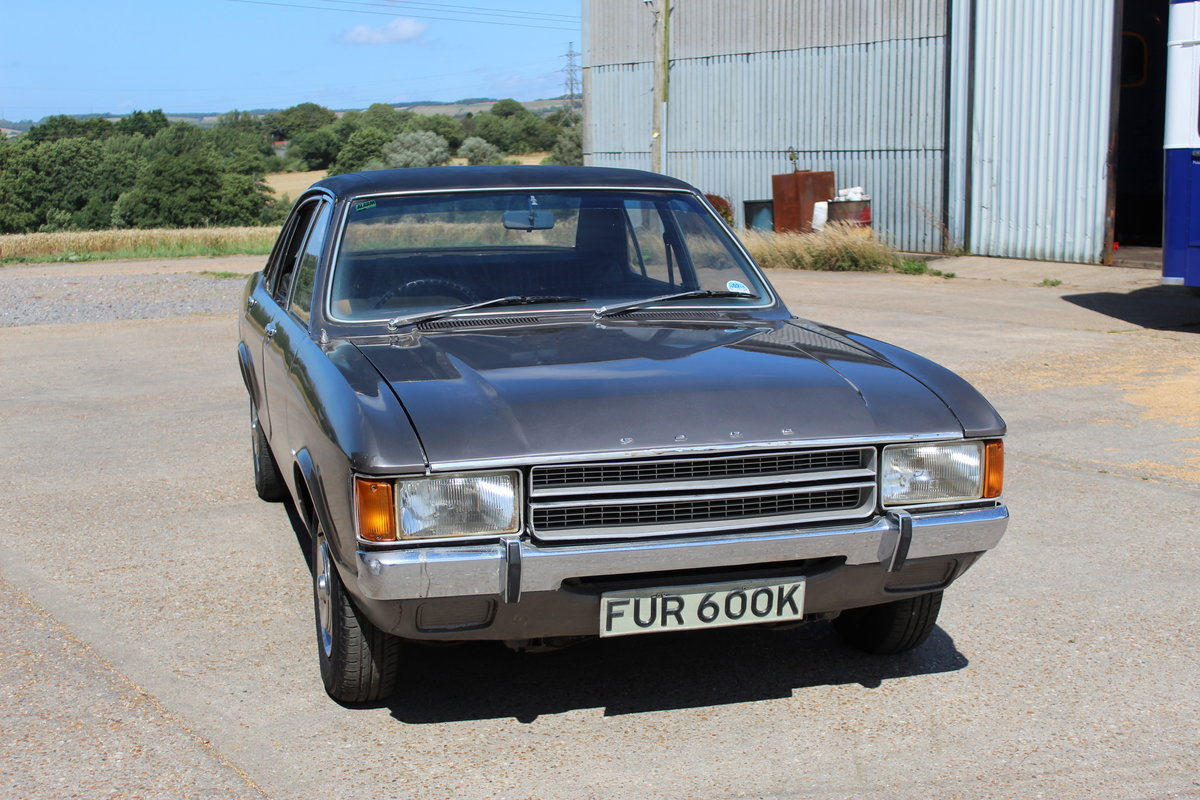 1972 Ford consul l 2.5 v6 for restoration  SOLD (picture 1 of 6)