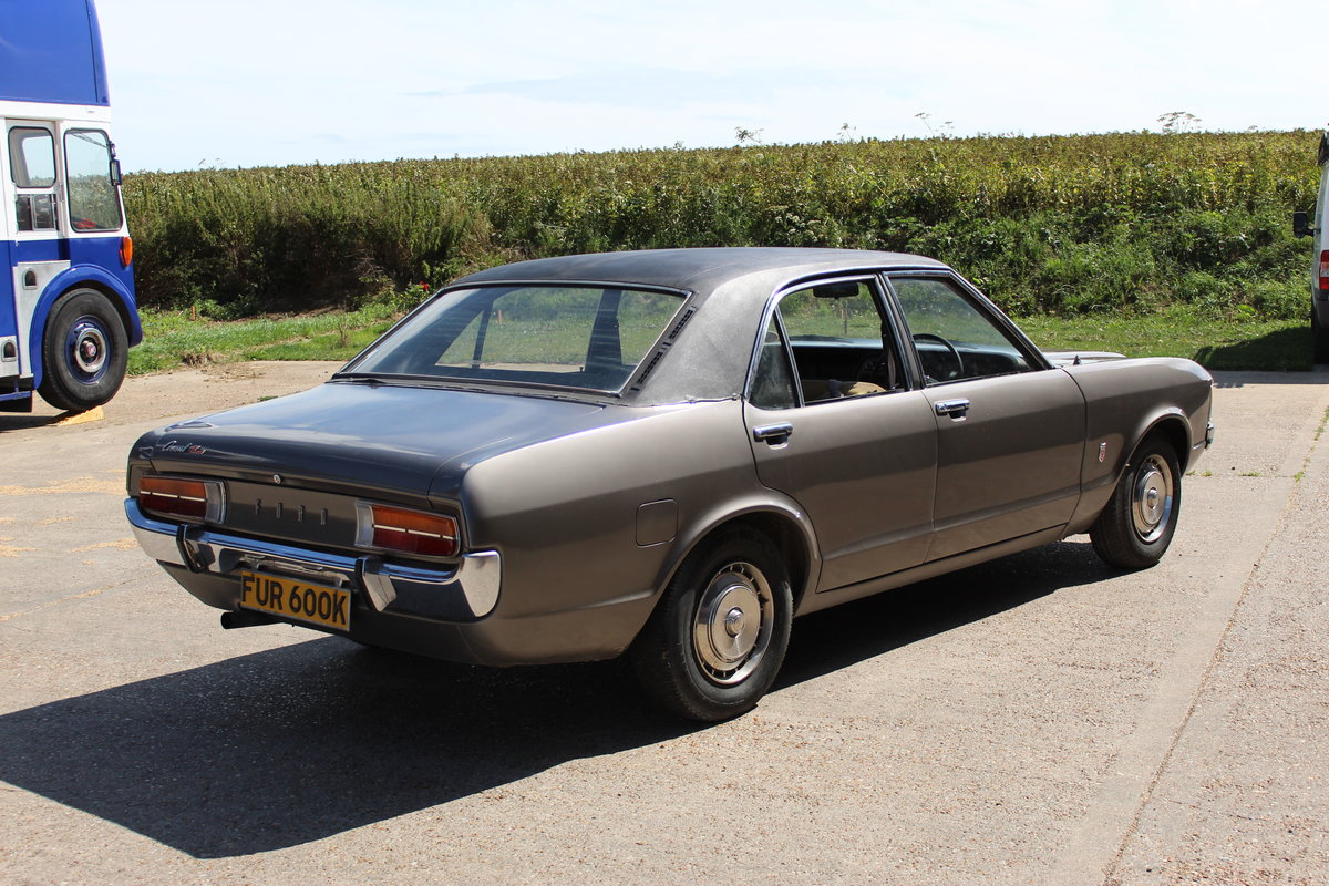 1972 Ford consul l 2.5 v6 for restoration  SOLD (picture 2 of 6)