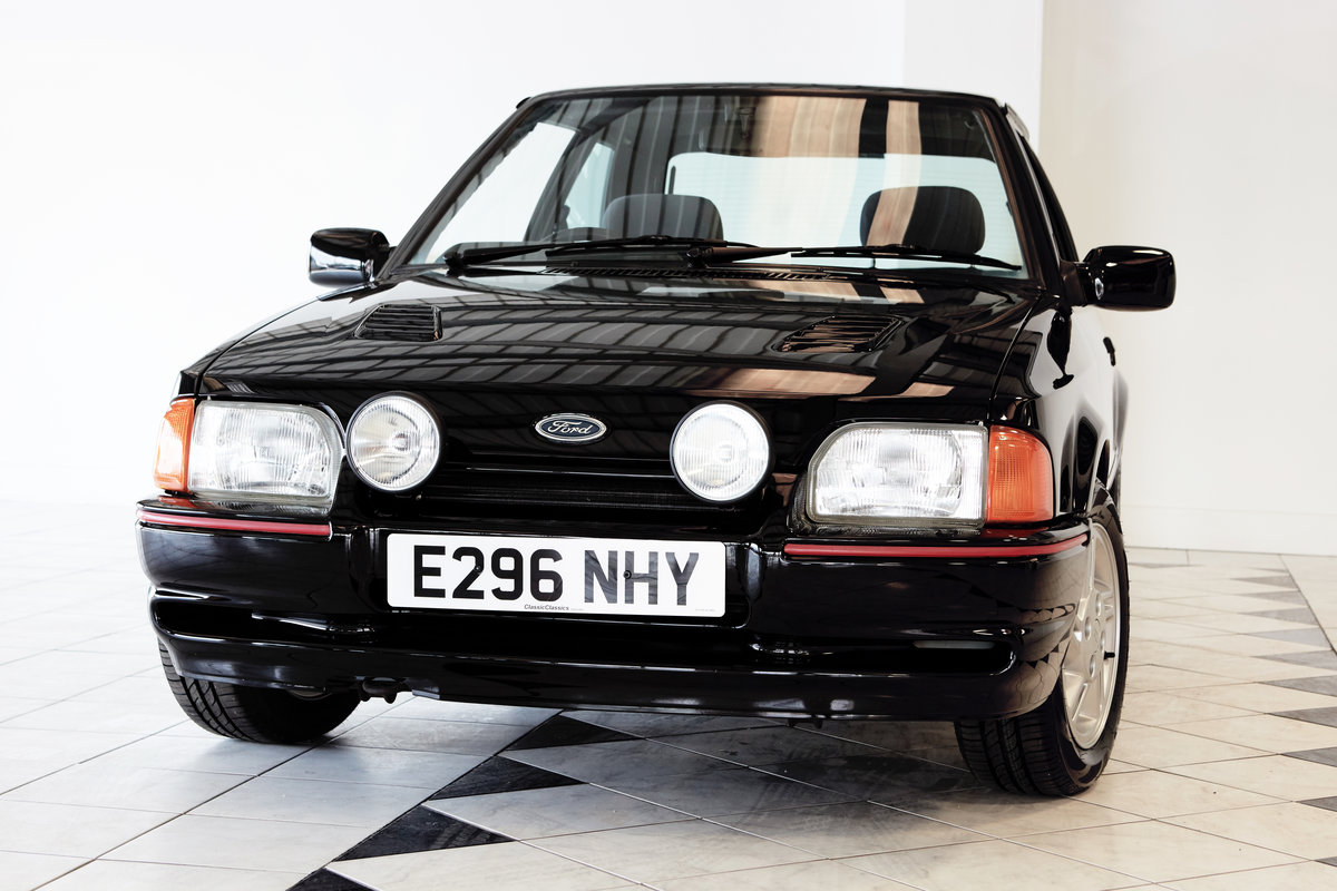1988 FORD ESCORT XR3i  SOLD (picture 3 of 4)