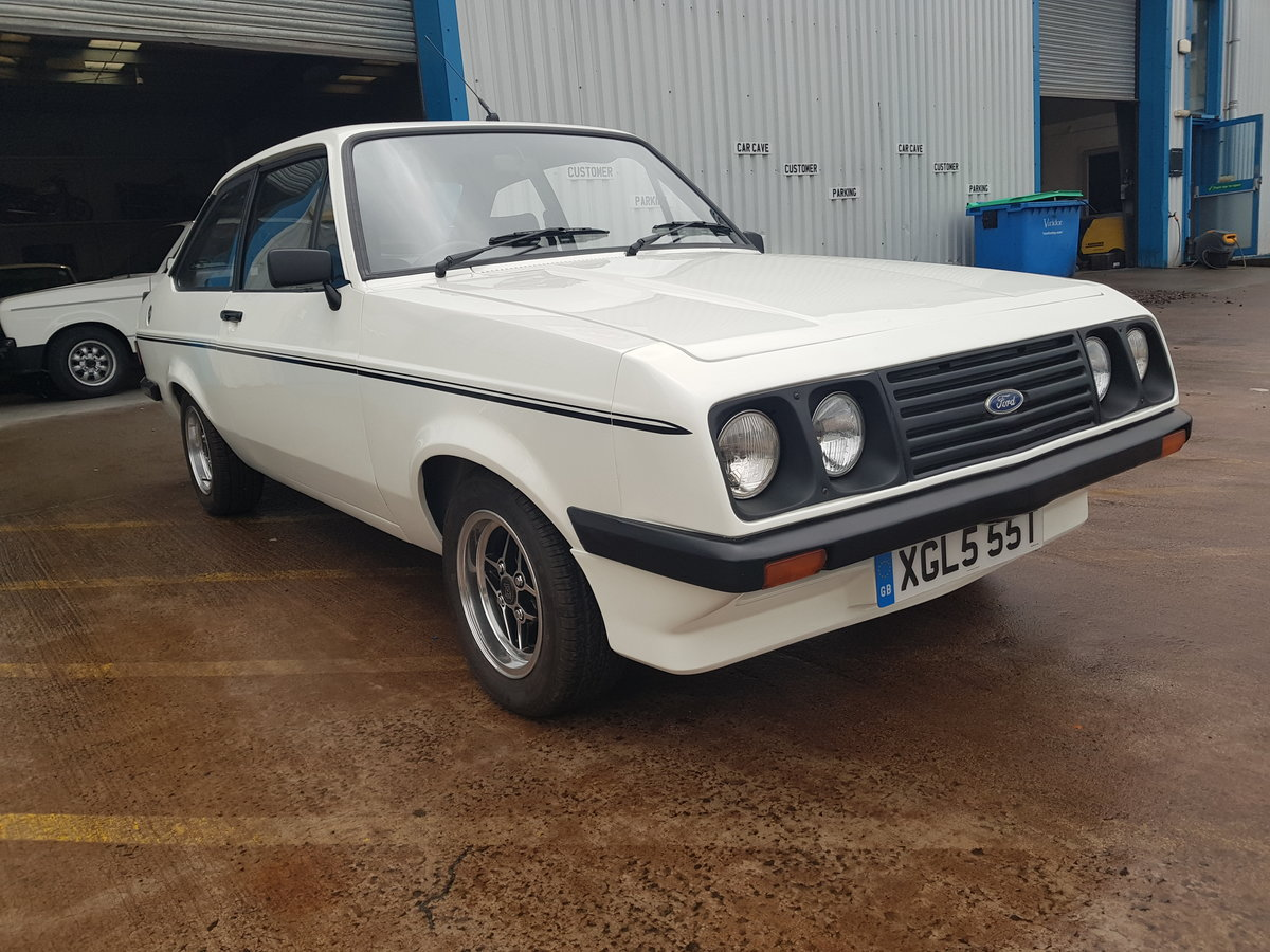 1978 Ford Escort MK2 RS2000 For Sale (picture 1 of 6)