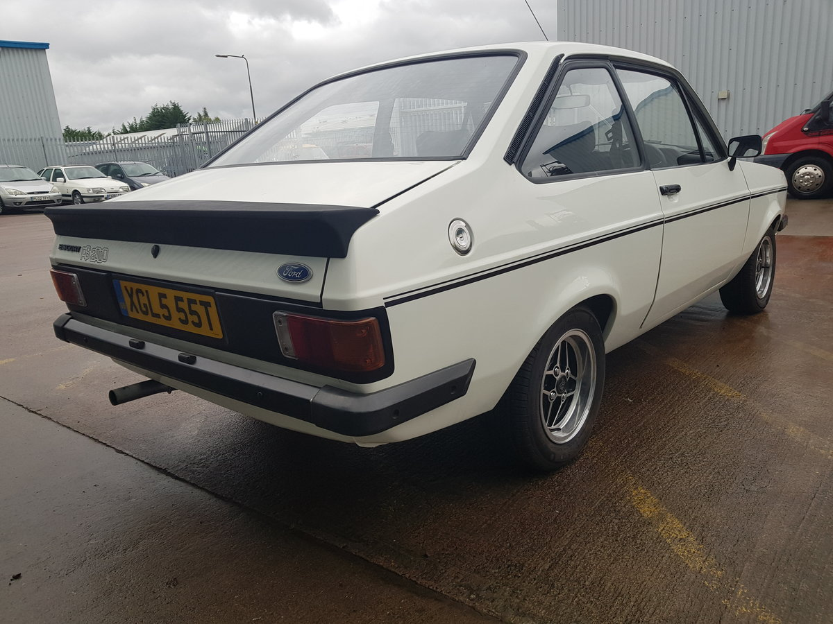 1978 Ford Escort MK2 RS2000 For Sale (picture 3 of 6)