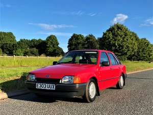 1987 Mk4 Ford Escort 1.6 Ghia 5 Dr TIME WARP CONDITION For Sale