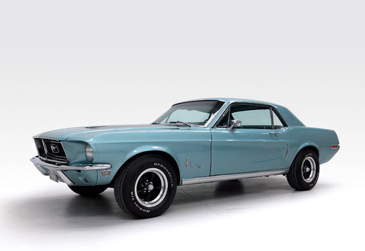 1968 Ford Mustang 302 manual For Sale (picture 1 of 10)