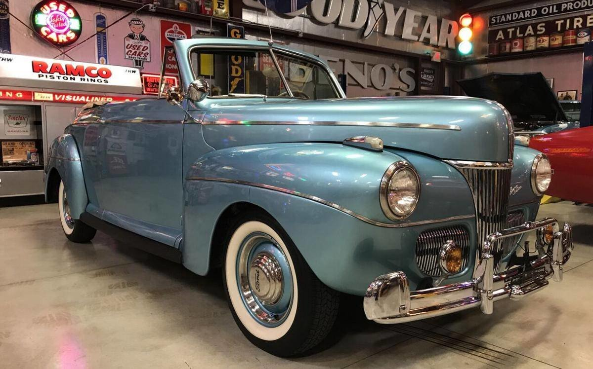 1941 Ford Super Deluxe Convertible For Sale (picture 1 of 6)