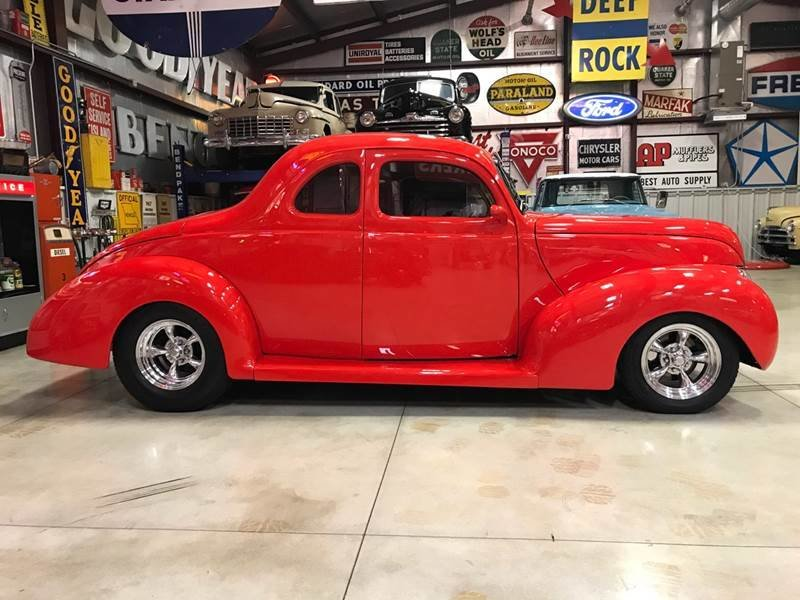 1939 Ford Custom 5-W Coupe For Sale (picture 1 of 6)