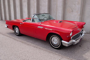 1957 C-code Ford ThunderBird Roadster Red Manual $21.9k