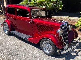 1934 Ford Sedan Custom Mods 350(~)350 + Trailer $56.9k For Sale
