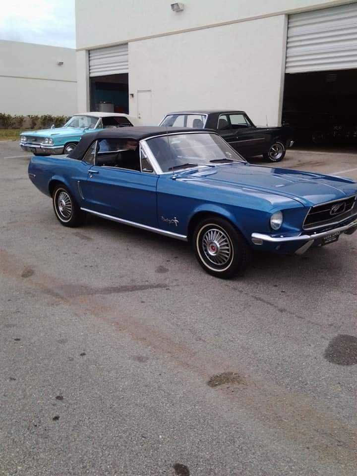 1968 Ford Mustang Convertible (West Windsor, VT) $32,500 obo For Sale (picture 1 of 6)