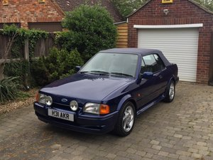 1990 Ford Escort XR3i special edition