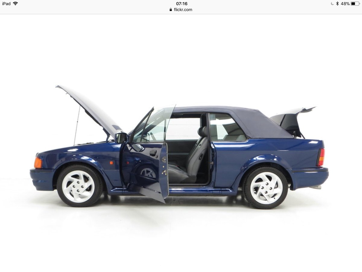 1990 Ford Escort XR3i special edition For Sale (picture 4 of 5)