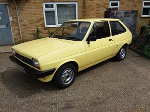 1981 Ford Fiesta mk1 popular plus 1.1 petrol 31,900 mil
