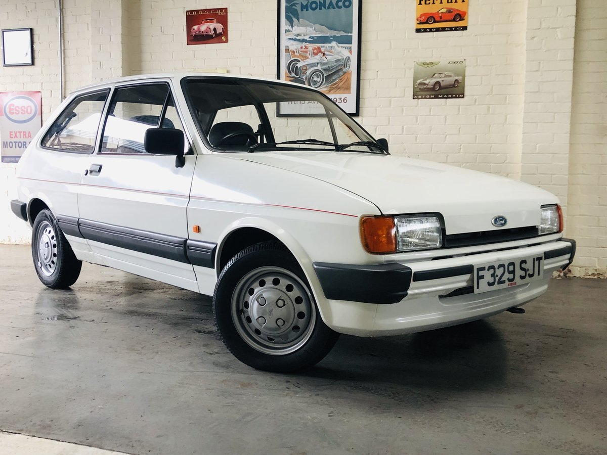 1988 FIESTA 1.4L - 1 OWNER FROM NEW - 47K MILES, STUNNING SOLD (picture 1 of 6)