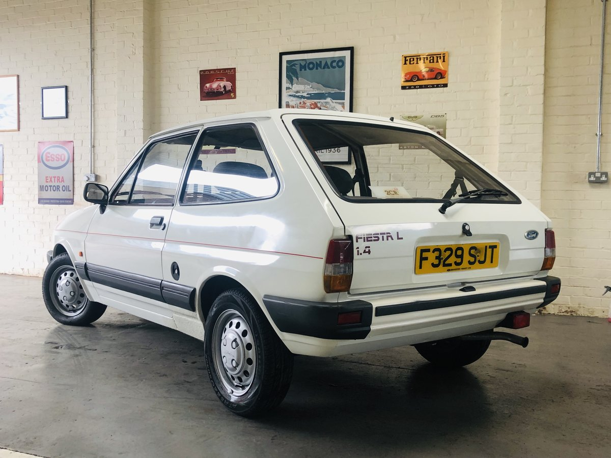 1988 FIESTA 1.4L - 1 OWNER FROM NEW - 47K MILES, STUNNING SOLD (picture 2 of 6)
