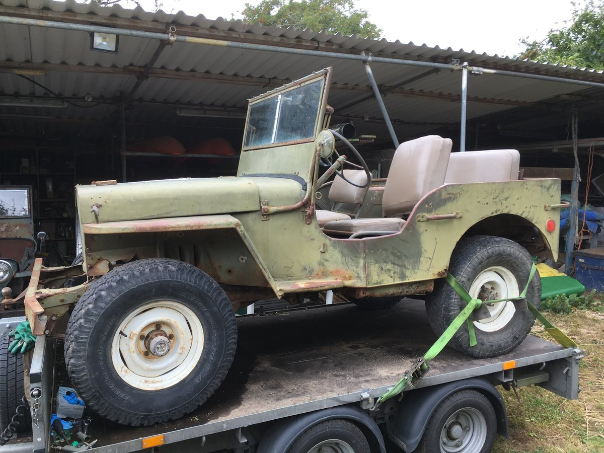 1942 Ford gpw restoration project For Sale   Car And Classic