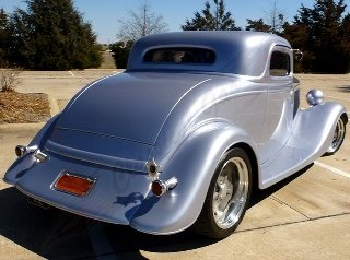 1934 Ford 3 Window Coupe Custom Fast LT1 + Trailer $67.5k For Sale (picture 3 of 5)