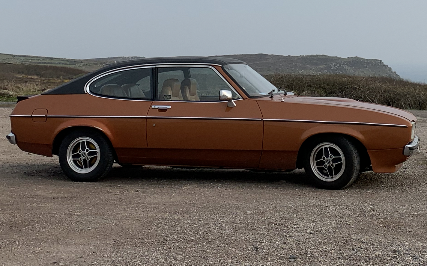 1974 Ford Capri MK II Ghia 2.0  For Sale (picture 1 of 6)