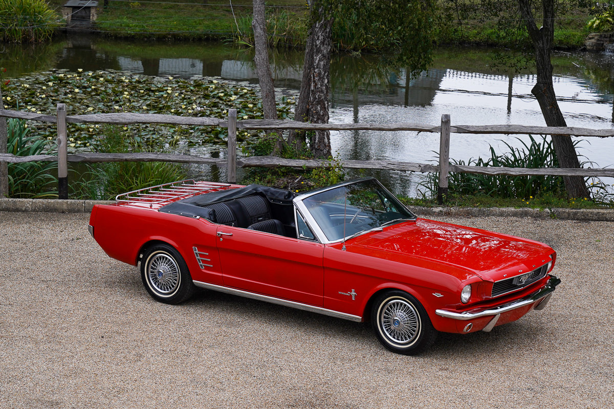 1966 Ford Mustang Convertible Survivor Huge Spec For Sale (picture 1 of 6)