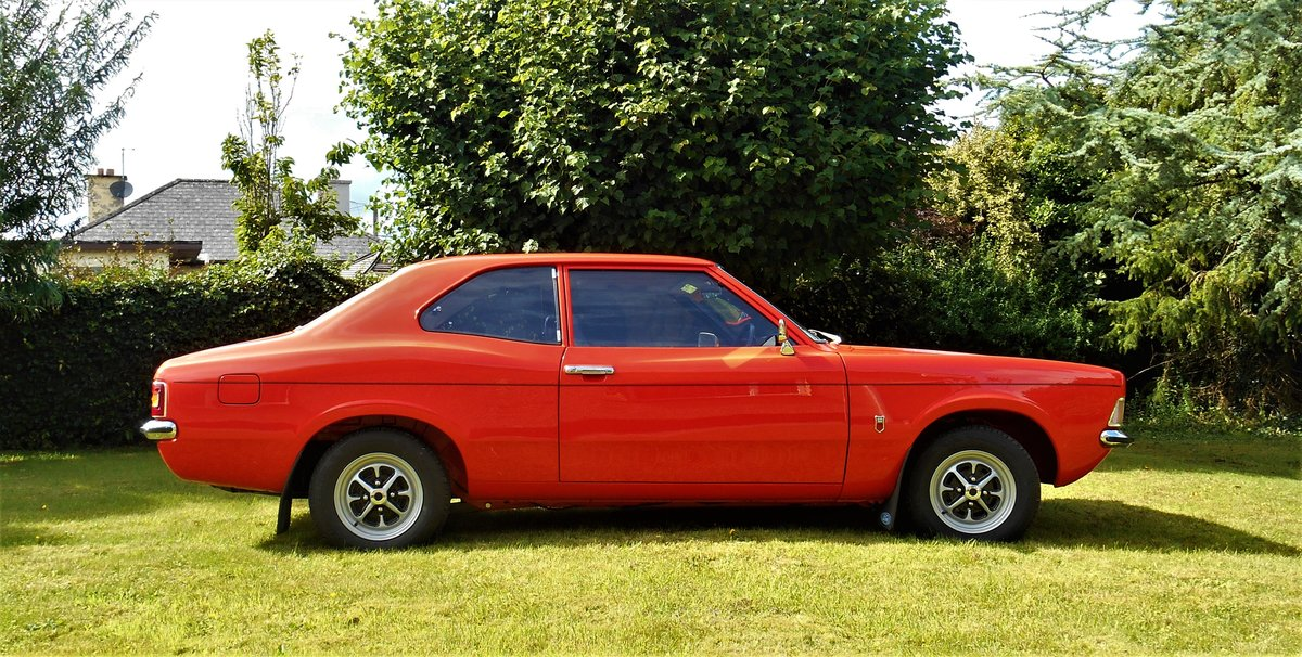 1972 Ford Cortina MK3 1600 GT 2 door. For Sale (picture 1 of 6)