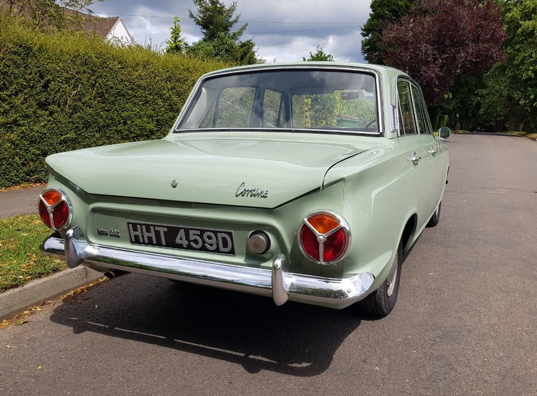 Ford Cortina Mk1 1500 Deluxe 1966 SOLD (picture 2 of 6)