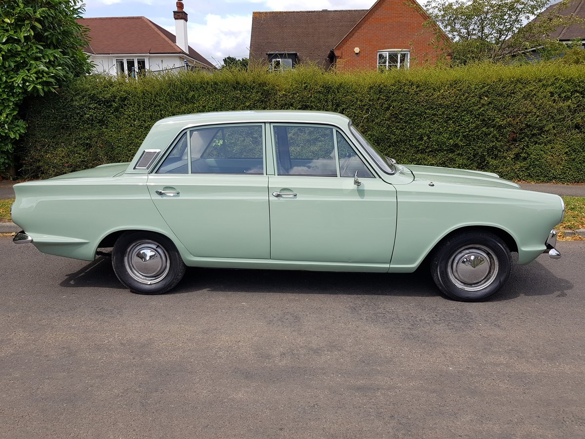 Ford Cortina Mk1 1500 Deluxe 1966 SOLD (picture 5 of 6)