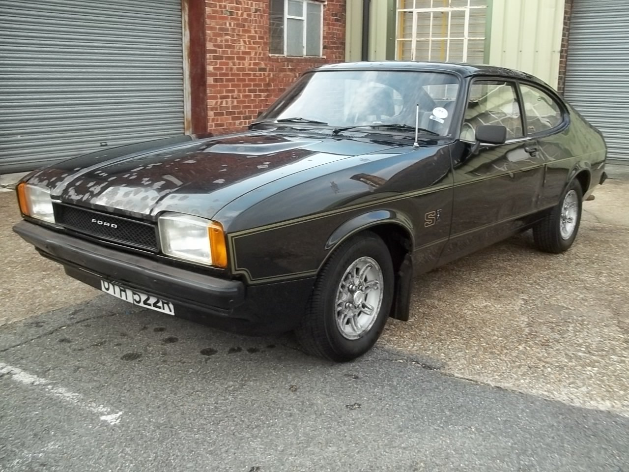 1977 Ford Capri 2.0S 1 owner from new SOLD (picture 1 of 6)
